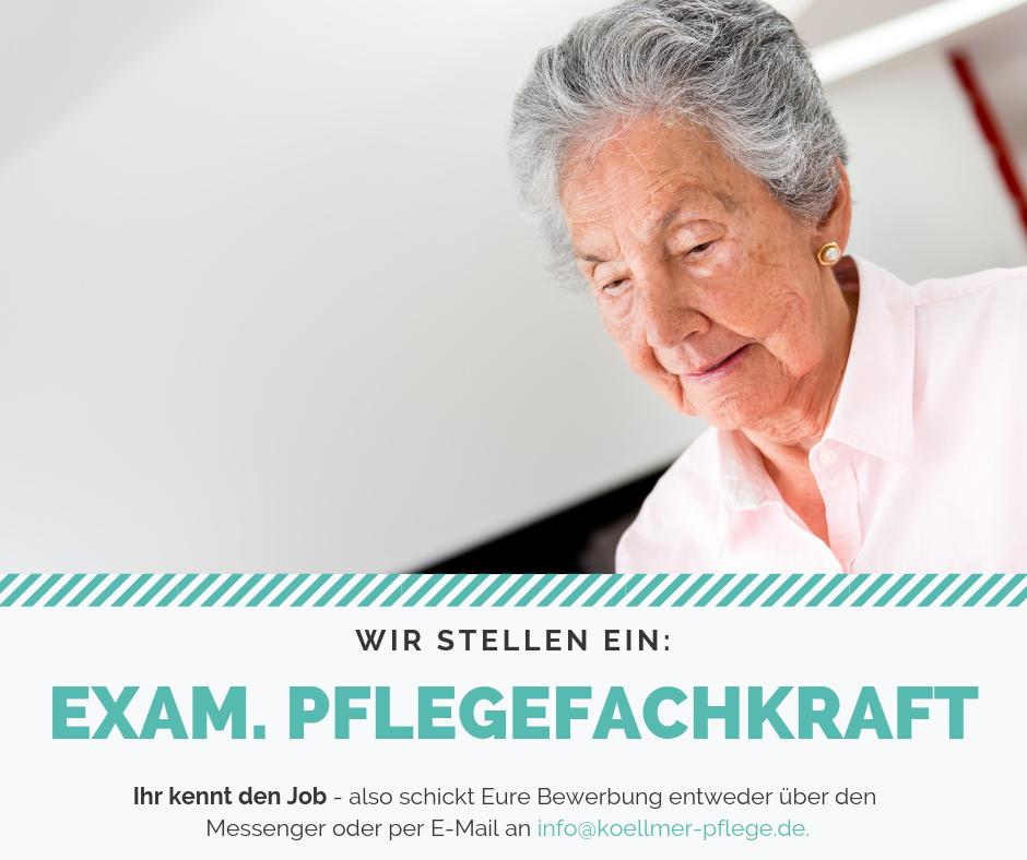 Pflegefachkrft für Senioren gesucht