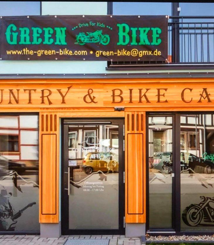 Country&Bike Cafe in Oschersleben